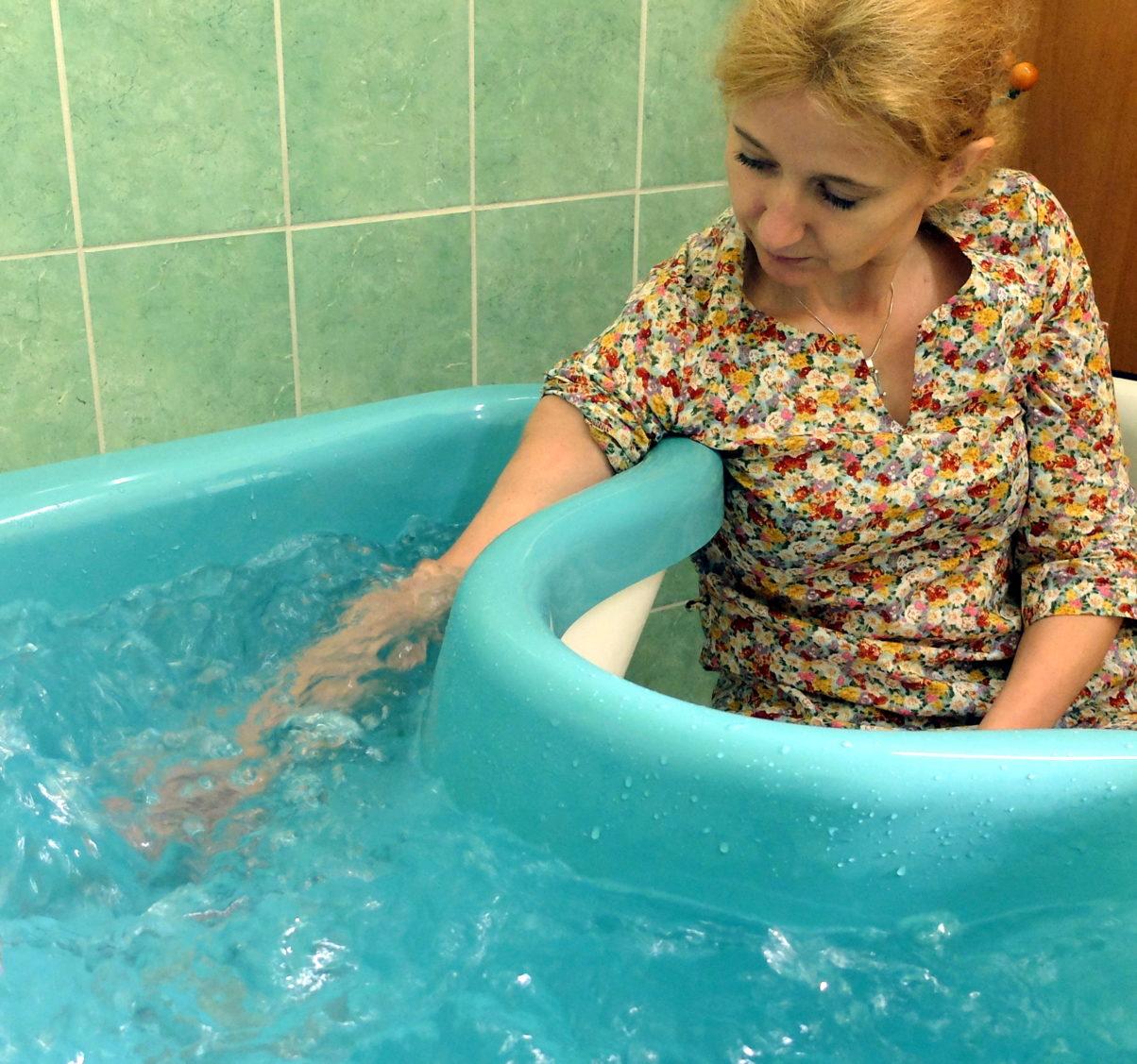 masaż wirowy